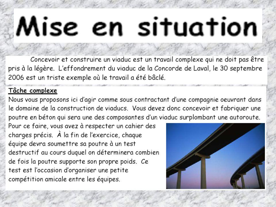 « Les MATÉRIAUX » Jour 2 10 Questionnaire sur la mise à lépreuve dune poutre Cahier de lélève, pages 30 à 35