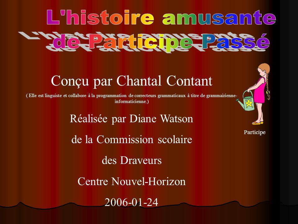 Conçu par Chantal Contant ( Elle est linguiste et collabore à la programmation de correcteurs grammaticaux à titre de grammairienne- informaticienne.)