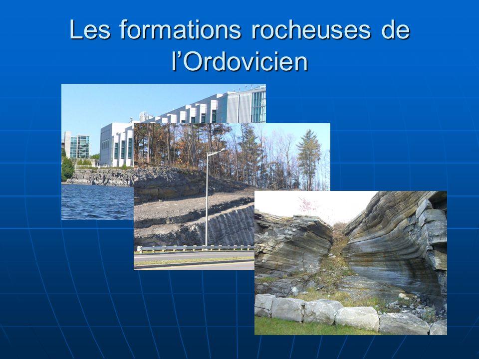 Les formations rocheuses de lOrdovicien
