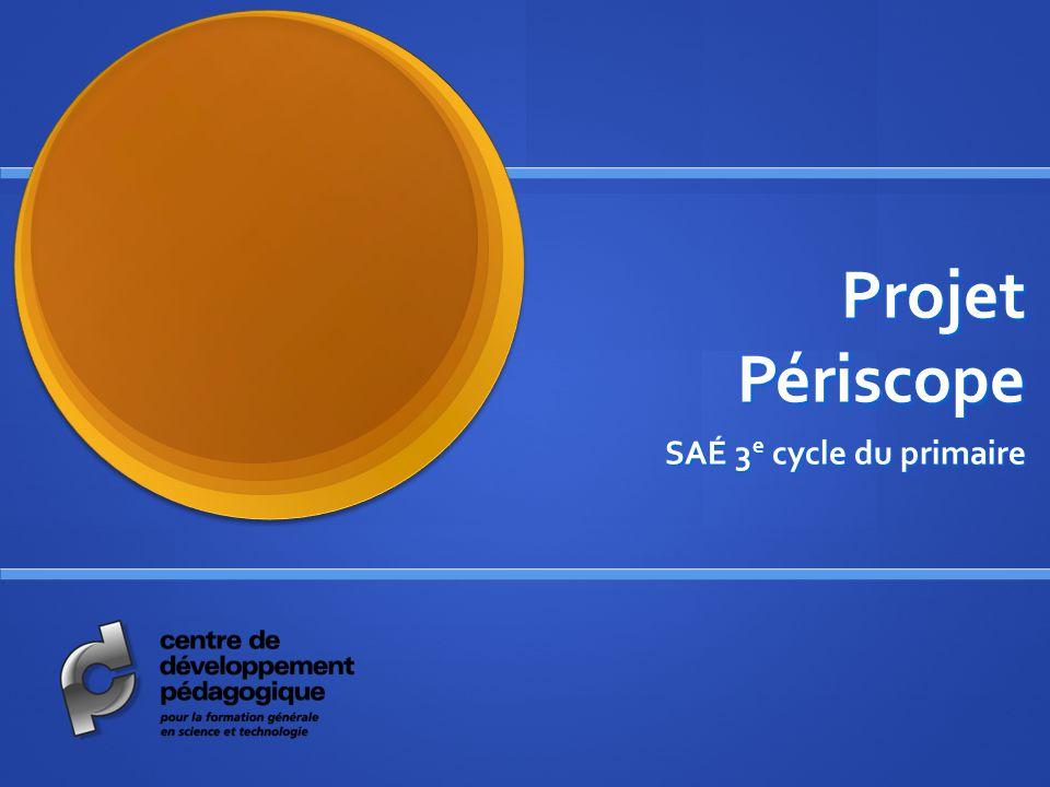 Projet Périscope SAÉ 3 e cycle du primaire
