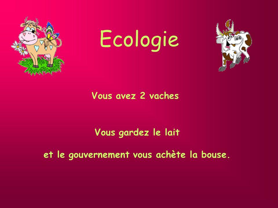 Bureaucratie européenne Vous avez 2 vaches Le parlement européen publie des règles d hygiène qui vous invitent à en abattre une.