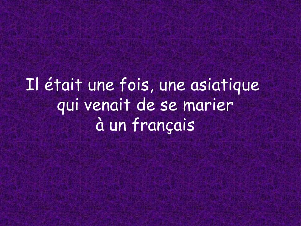 La pauvre dame ne savait malheureusement pas beaucoup de mots en français.