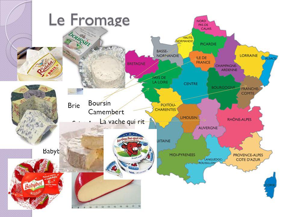 Le Fromage Babybel Brie Saint Agur Boursin Camembert La vache qui rit