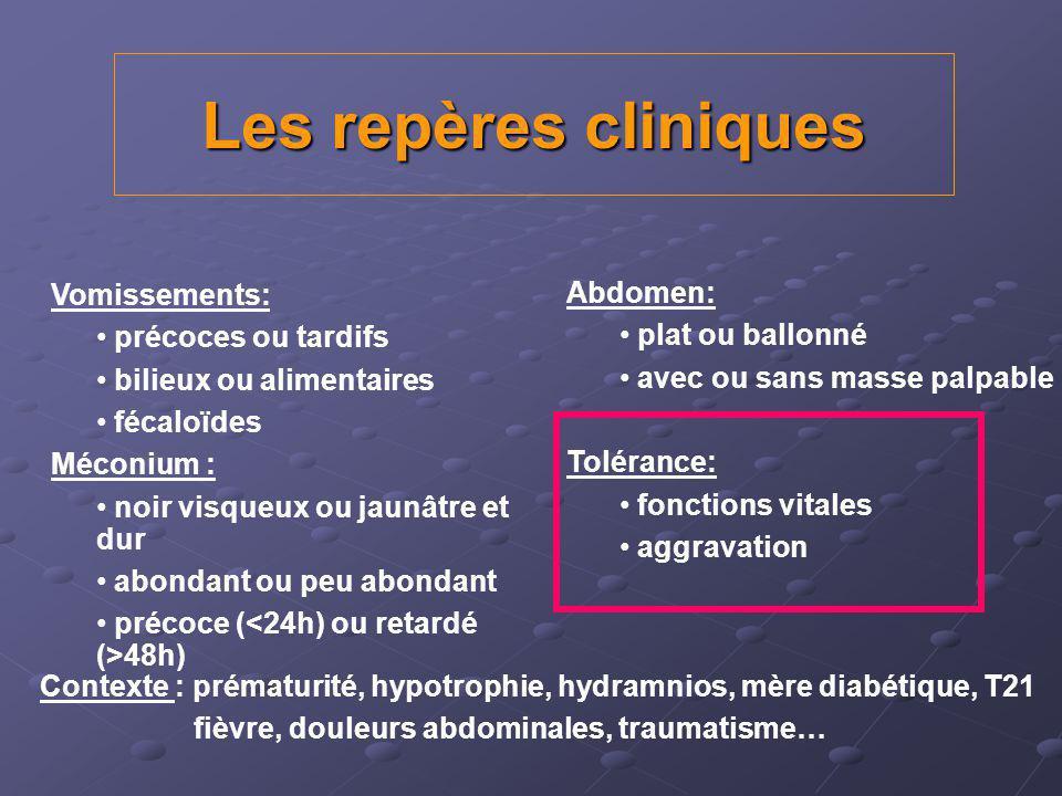 Atrésie du grêle Interruption de la continuité intestinale Siège: duodénum (50%), jéjunum (35%) et iléon (15%) Facteurs fav évoqués: RCIU, consng.
