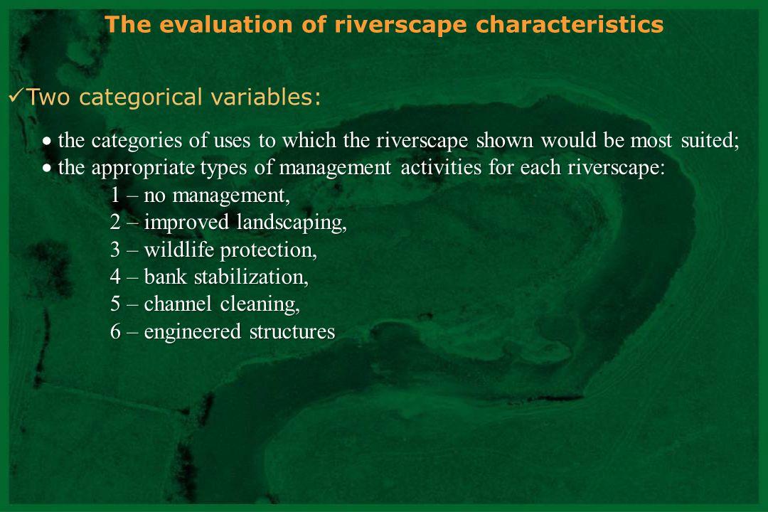 CNRS - UMR 5600 Photograph Water (%) Vegetation (%) Sediment (%) Grain size classes A42.2545.990.530 B 8.0252.411 C21.935.3534.221 D26.2040.9123.802 E1.0737.1761.503 F24.3310.7033.962 G60.1615.512.141 H15.5124.6039.573 I12.0328.6132.621 J59.369.8911.761 Surface area of each photograph (A through J) occupied by water, vegetation, and sediments, and the visually-assessed grain size classes of the sediment shown (0 - no sediment, 1 - gravel, 2 - pebbles, and 3 - large boulders)