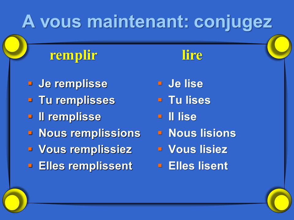 Les verbes dorthographe variable.