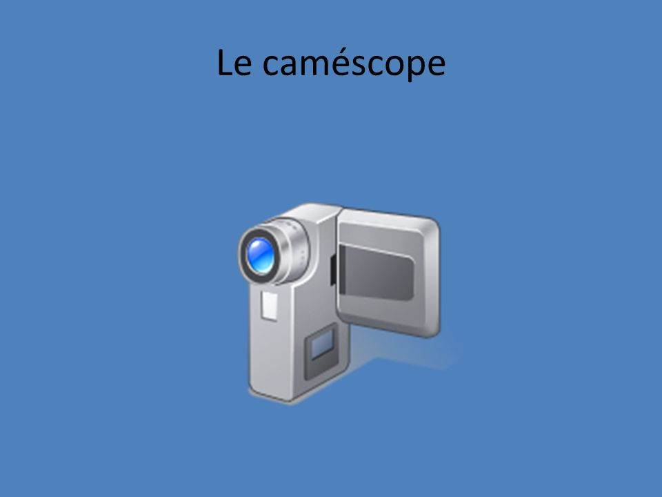 Lappareil photo numérique