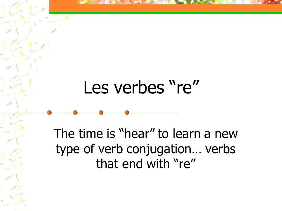 Conjugation… what.