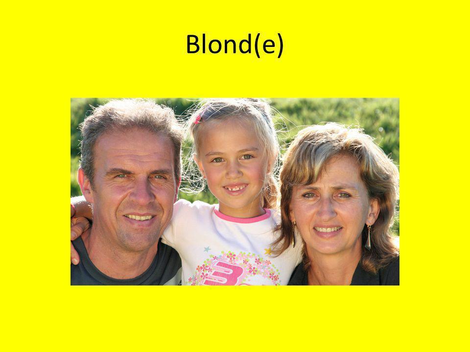 Blond(e)