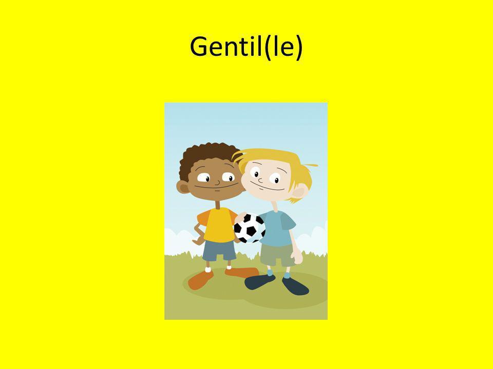 Gentil(le)