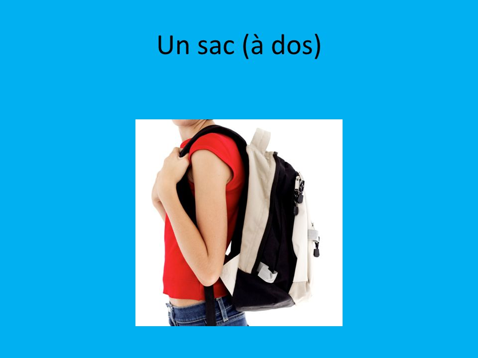 Un sac (à dos)
