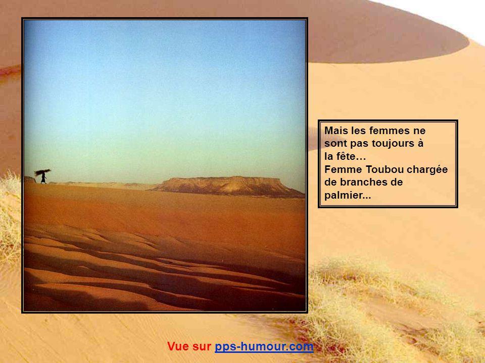 Femmes touarègues dans l oued Zagado, Massif de l Aïr, Niger. Le livre ne dit pas quels trésors elle a dans son tablier... Vue sur pps-humour.compps-h