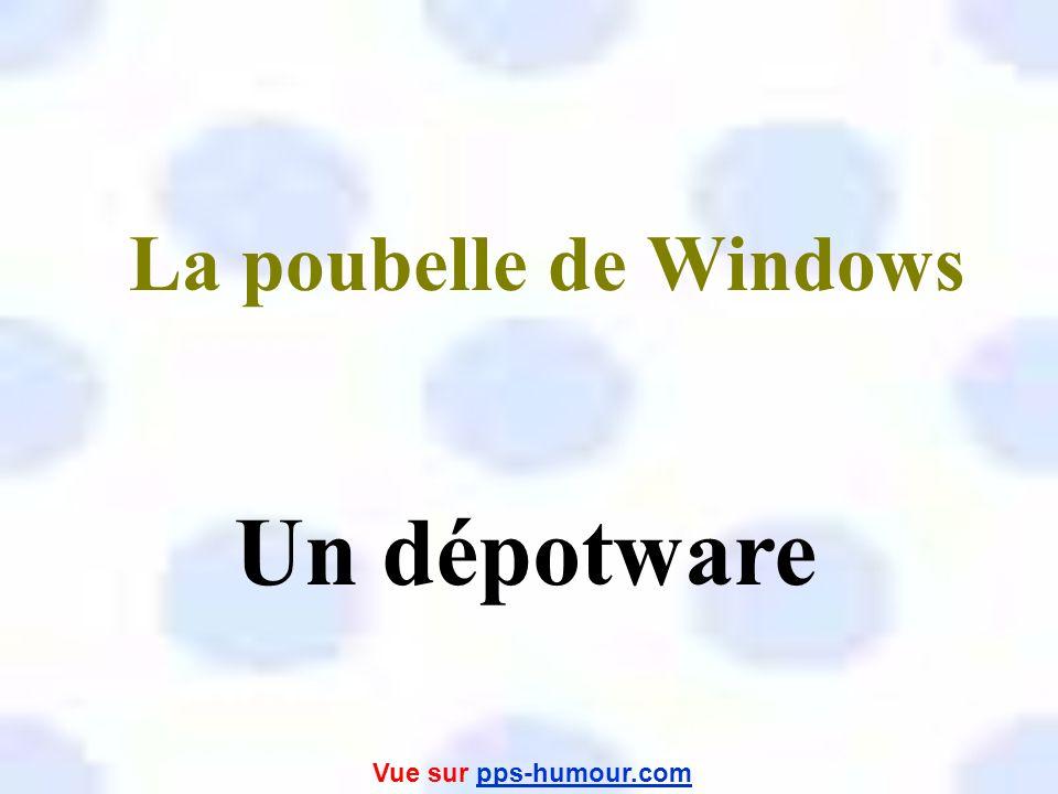 Un serveur de réseau Un abreuware Vue sur pps-humour.compps-humour.com