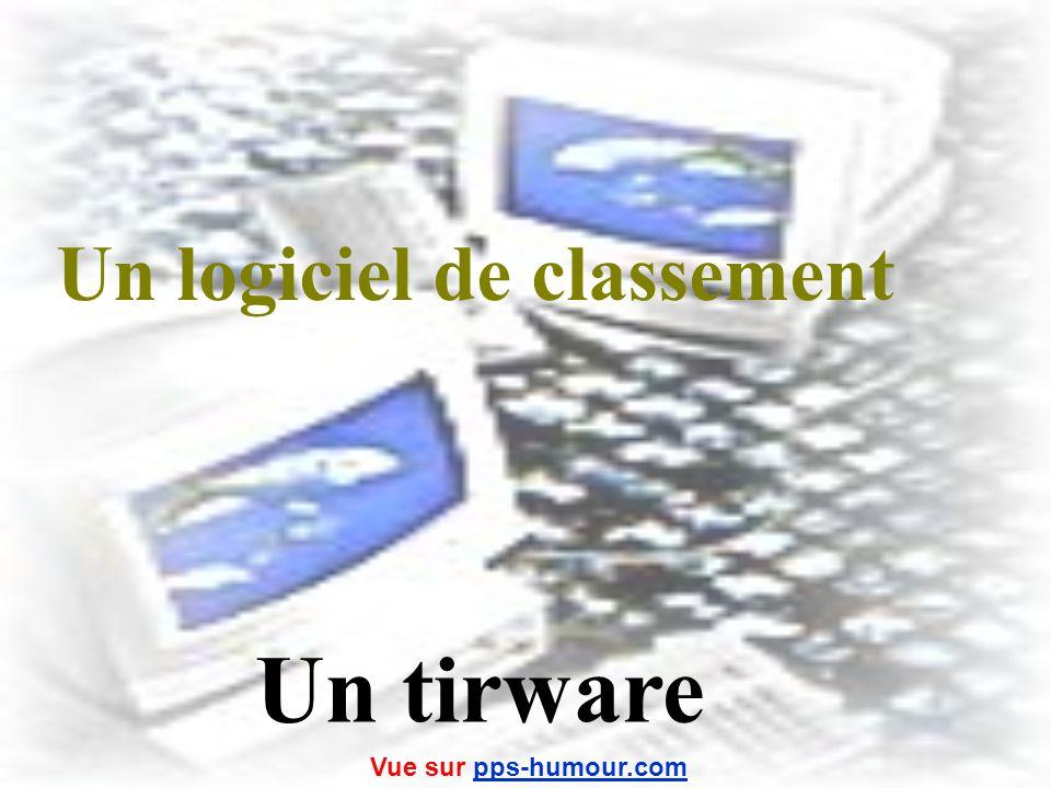 Un logiciel antivirus Un mouchware Vue sur pps-humour.compps-humour.com