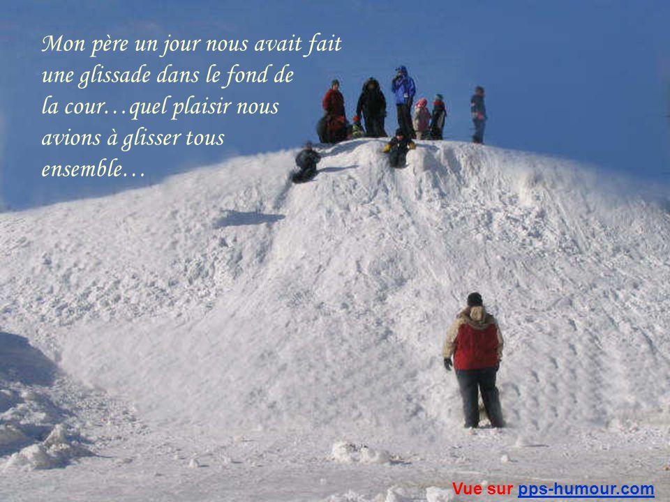 Quil y en avait de la neige…personne ne la ramassait alors elle sempilait à notre plus grand bonheur Vue sur pps-humour.compps-humour.com