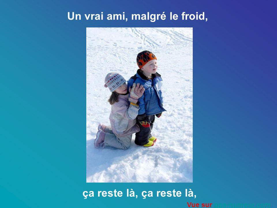 Mais un ami, cest pour la vie, quand tout sécroule quand rien nous réussit, Vue sur pps-humour.compps-humour.com