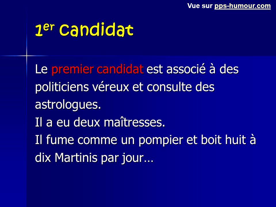 Seconde question Il est temps d'élire le Président du Monde et votre vote sera déterminant. Voici les données concernant les trois principaux candidat