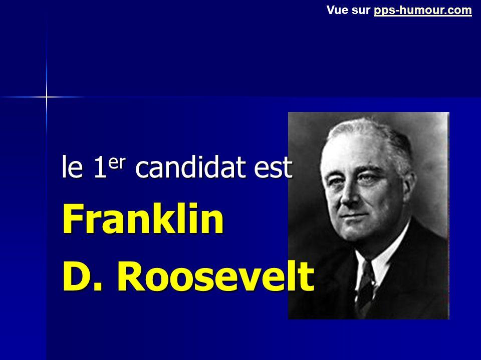 Parmi ces trois candidats, lequel choisiriez-vous (honnêtement) ? Faites votre choix, puis lisez la réponse ci-après. Vue sur pps-humour.compps-humour