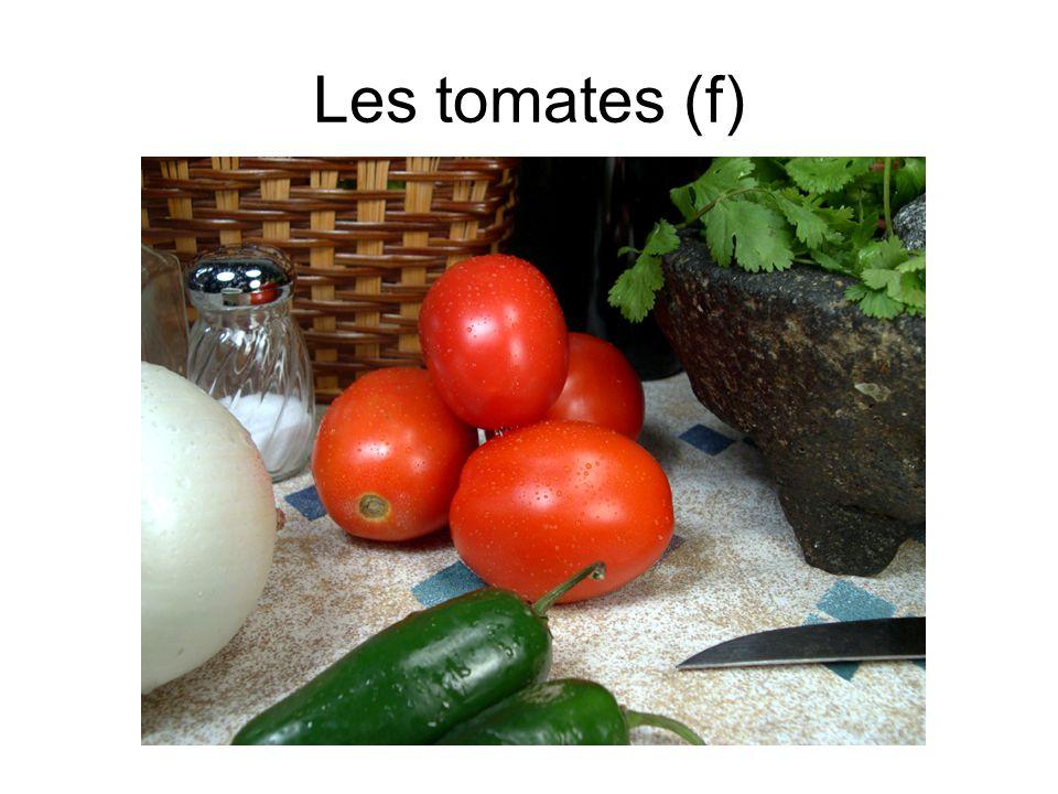 Les tomates (f)
