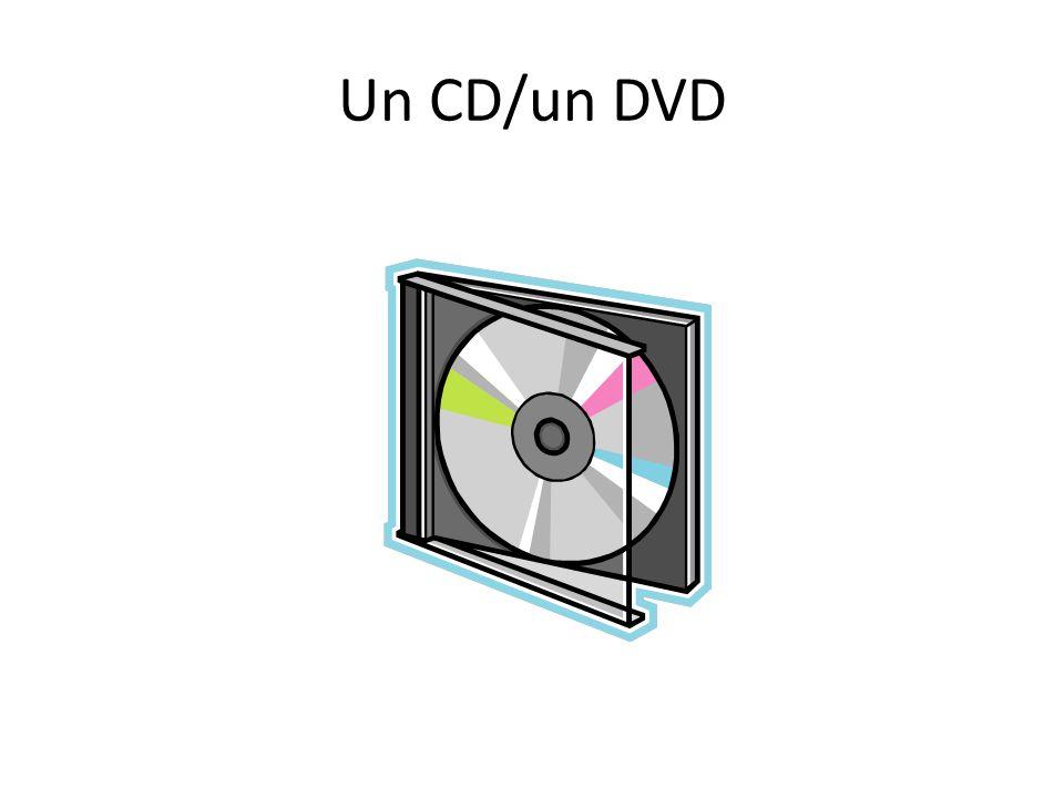 Un CD/un DVD