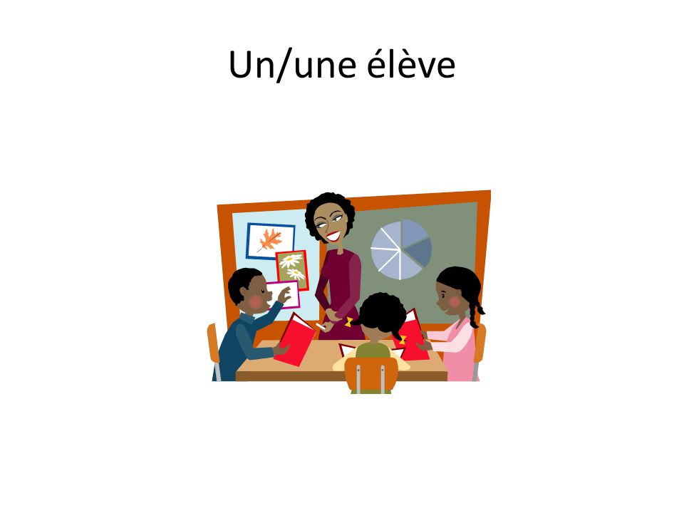 Un/une élève