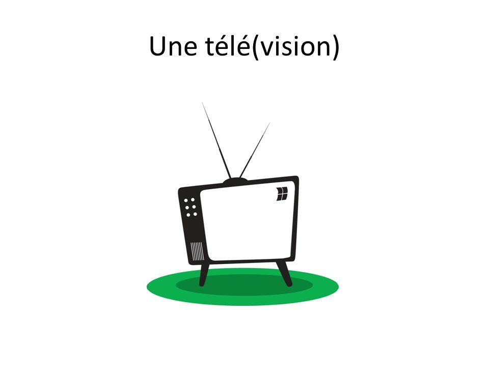 Une télé(vision)