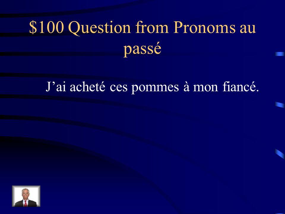 $500 Answer from les Pronoms Il ne faut pas les leur envoyer.