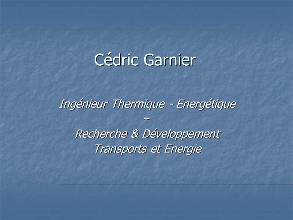 Ingenieur thermique energetique