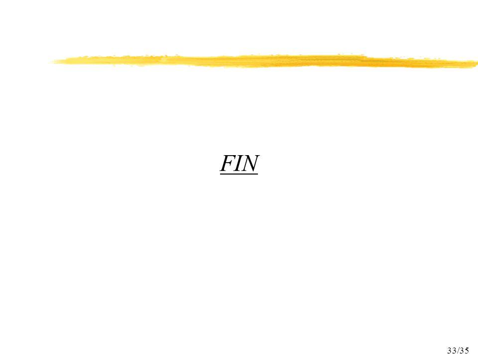 33/35 FIN