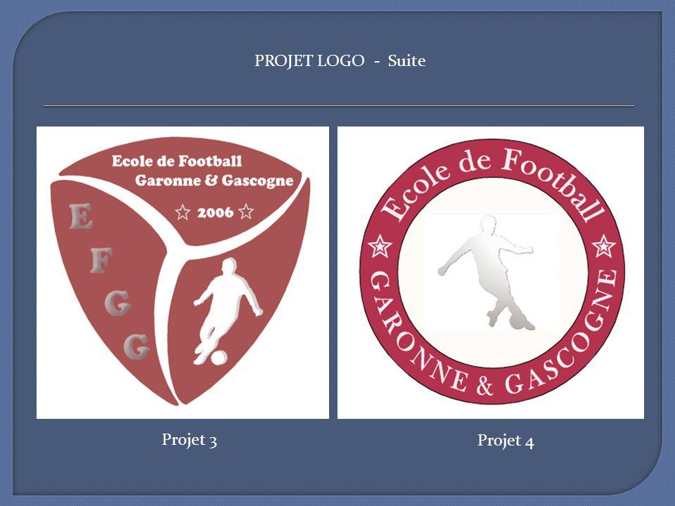 Projet 3 Projet 4 PROJET LOGO - Suite