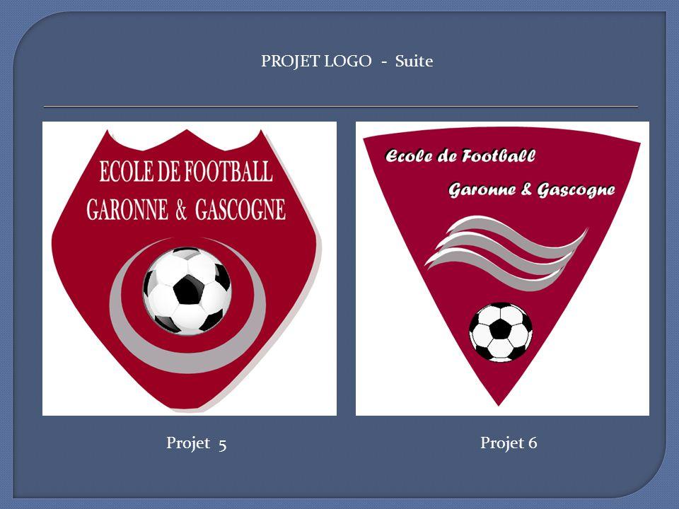 Projet 5Projet 6 PROJET LOGO - Suite