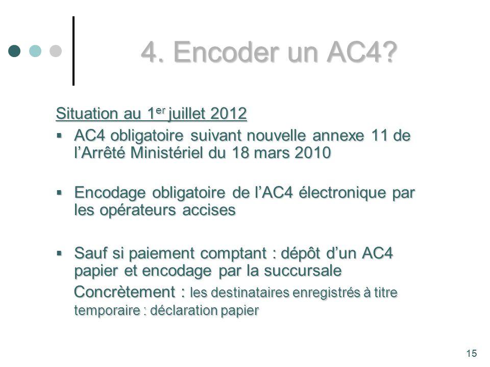 15 4.Encoder un AC4.
