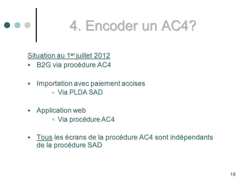 16 4.Encoder un AC4.