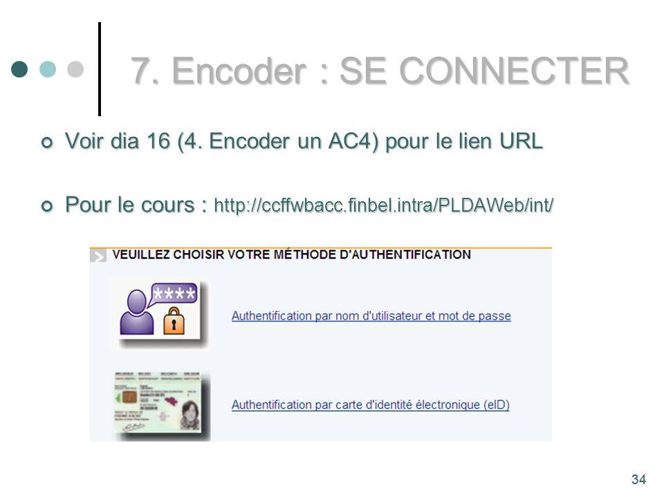 34 Voir dia 16 (4.Encoder un AC4) pour le lien URL Voir dia 16 (4.