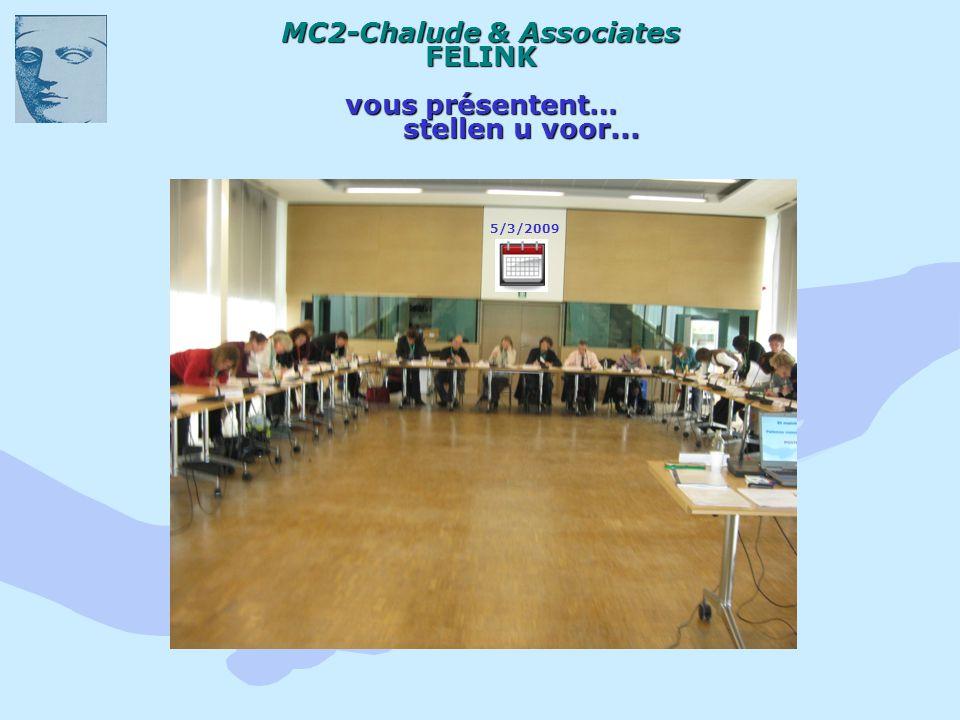 MC2-Chalude & Associates FELINK vous présentent… stellen u voor... 5/3/2009