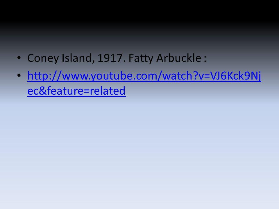 Coney Island, 1917.