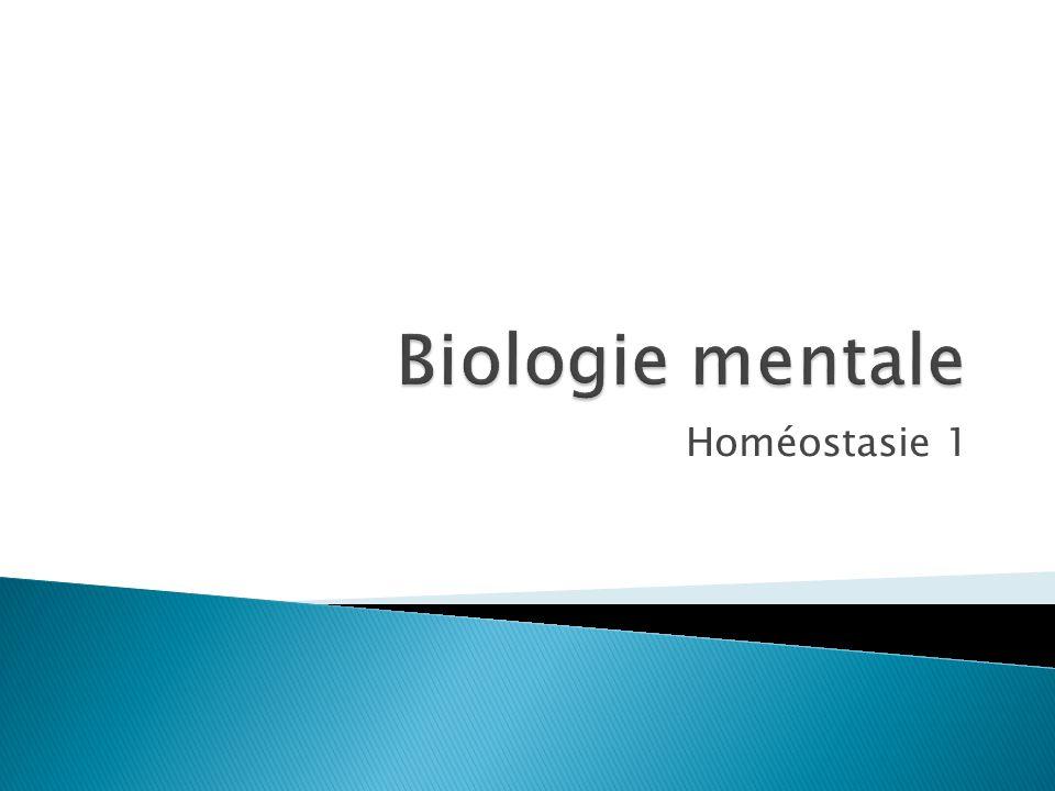 Homéostasie 1