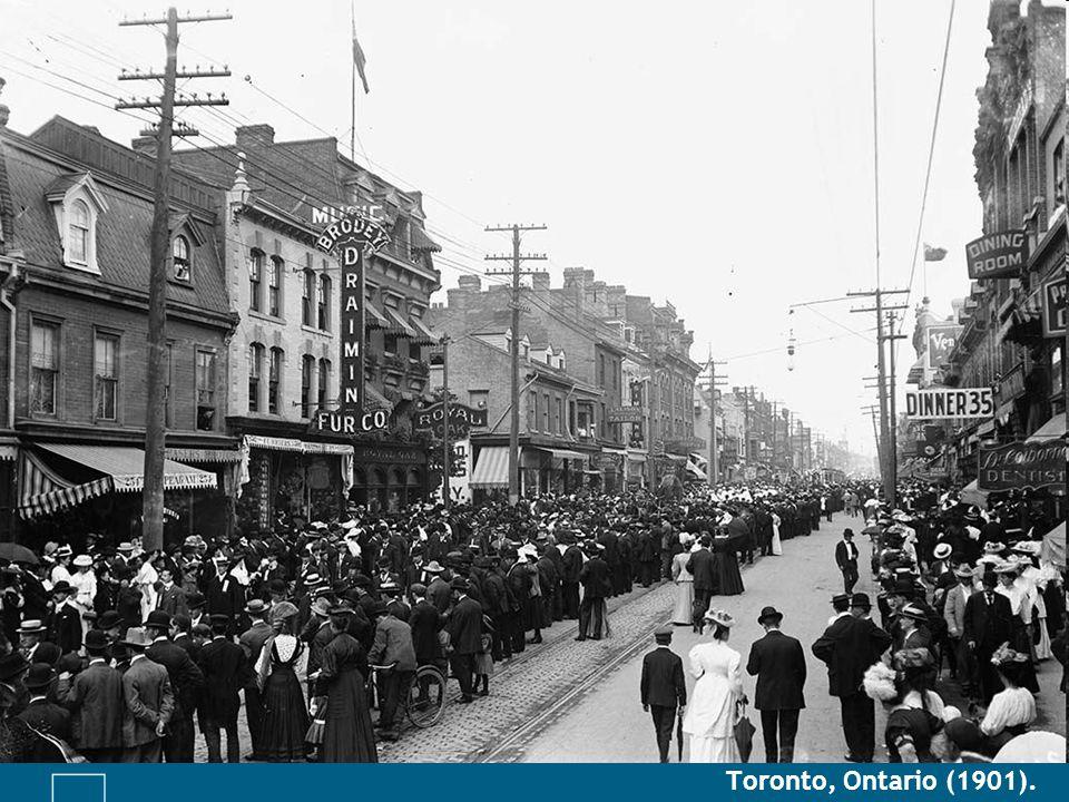 Toronto, Ontario (1901).