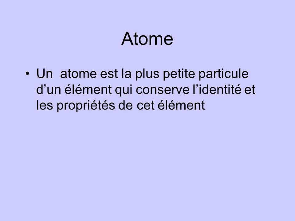 12.0116 C carbone Dans le tableau périodique on retrouve linformation suivante : –Numéro atomique –Nombre de masse –Symbole chimique –Nom Notation chimique