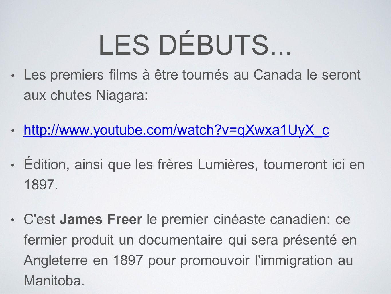 PREMIER FILM DE FICTION... Hiawatha, Messi des ojibway, réalisé par Joe Rosenthal en 1903.