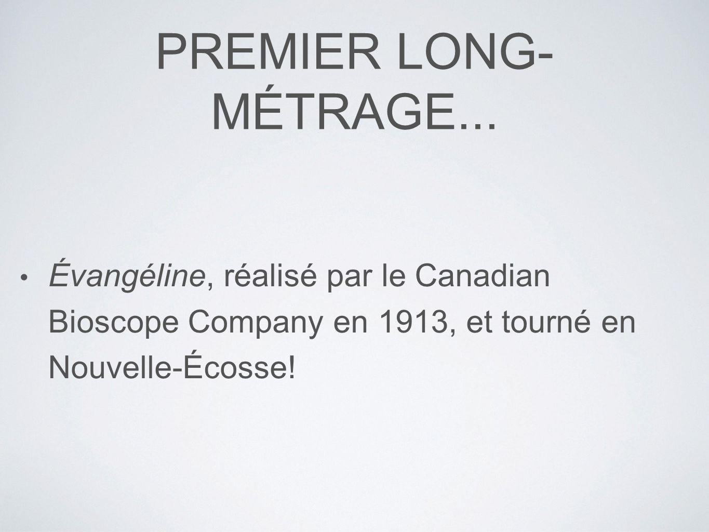 PREMIER LONG- MÉTRAGE...