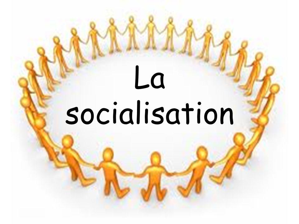 RAG et RAS à atteindre RAG 3 Analyser le phénomène de la socialisation RAS 3.1 Expliquer le processus de socialisation
