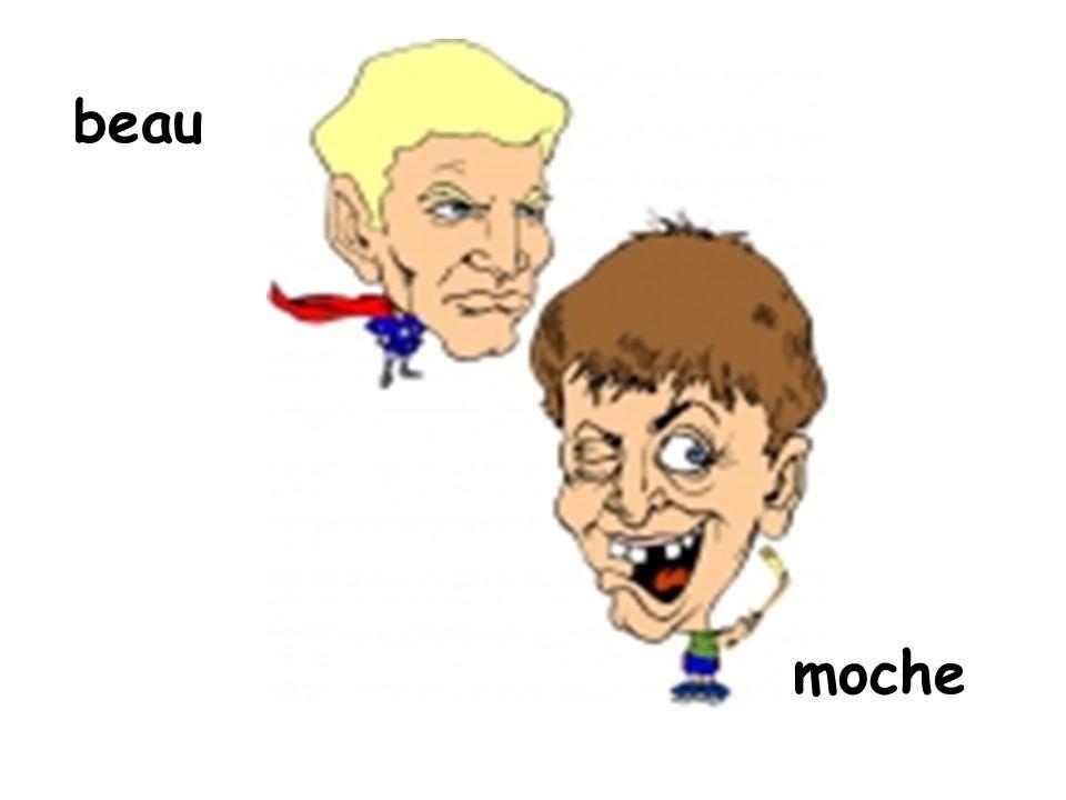 beau moche