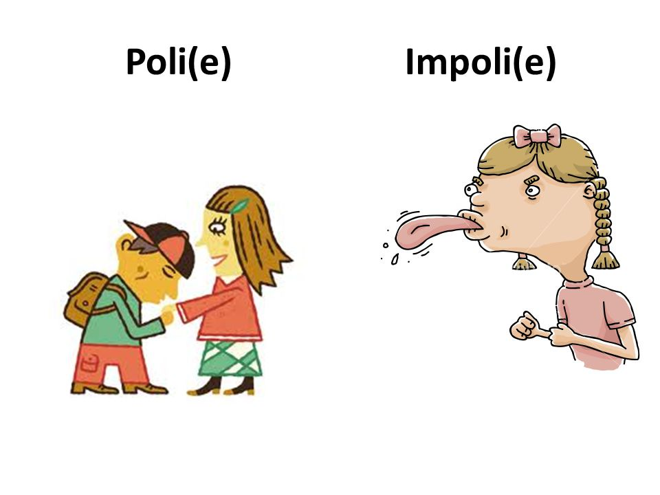 Poli(e)Impoli(e)