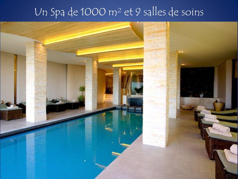 Un Spa de 1000 m² et 9 salles de soins