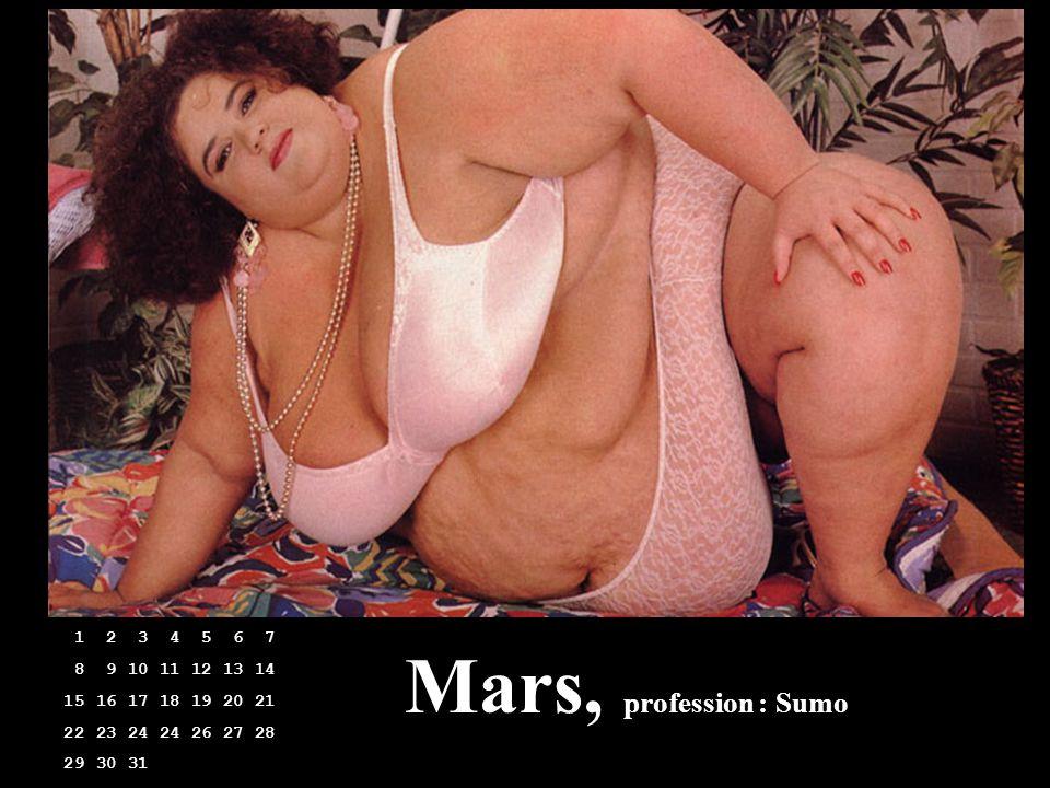 Mars, profession : Sumo 1 2 3 4 5 6 7 8 9 10 11 12 13 14 15 16 17 18 19 20 21 22 23 24 24 26 27 28 29 30 31