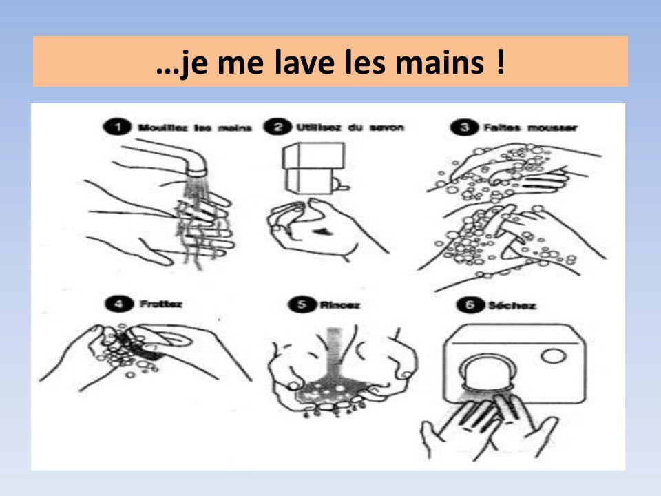 Le lavage des mains est un élément important de l hygiène dans la vie courante.