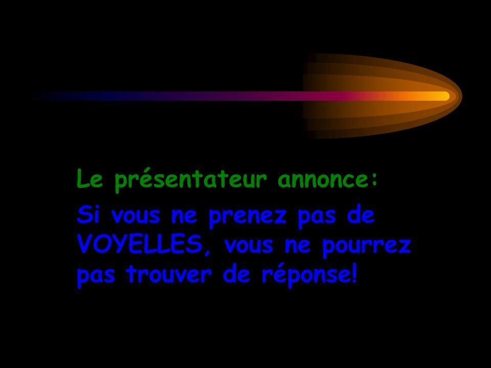 Le Parisien: Consonne Le Marseillais: Consonne Le Parisien: Consonne Le Marseillais: Consonne Le Parisien: Consonne