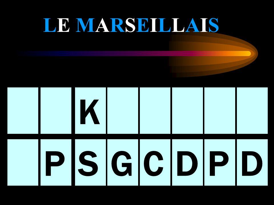 Le présentateur et le Parisien Sont PERPLEXES! Le présentateur sadresse au marseillais: Allez-y