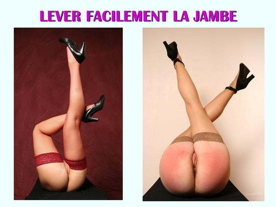 LEVER FACILEMENT LA JAMBE